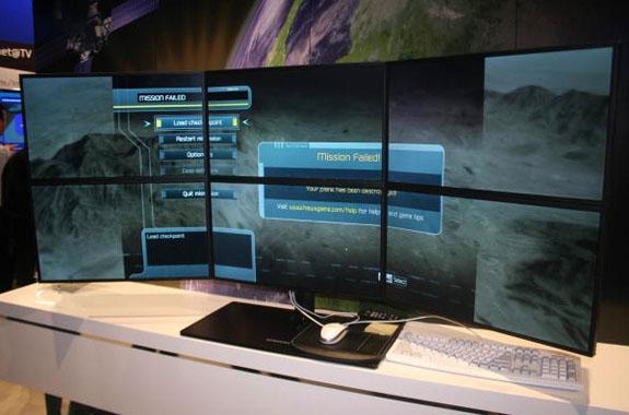 Samsung 3 ve 6 monitörlü ATi Eyefinity kurulumlarını sergiliyor