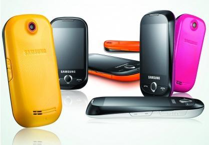 Samsung'un dokunmatik ekranlı yeni telefonu Corby, Avrupa'ya geliyor