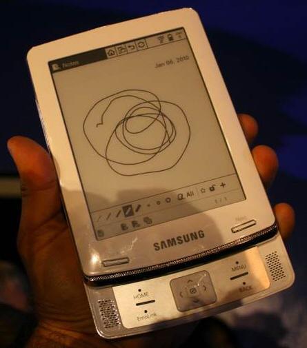 Samsung eKitap okuyucularını duyurdu: E6 ve E101