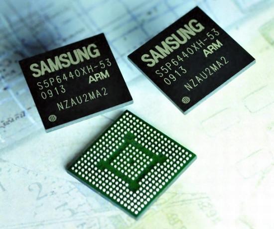 Samsung'dan ARM tabanlı yeni uygulama işlemcisi; S5P6440