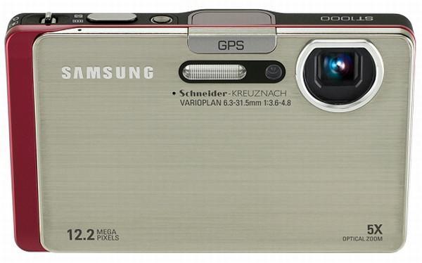 Samsung ST1000; 5x optik yakınlaştırma, GPS, Bluetooth ve WiFi destekli 12.2MP dijital kamera
