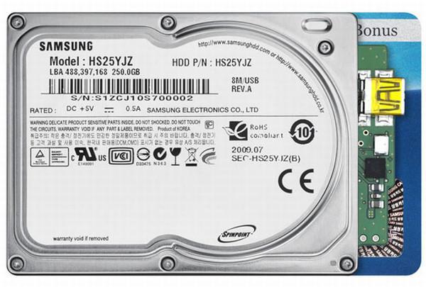 Samsung 1.8-inç boyutundaki 256GB kapasiteli yeni sabit diskini tanıttı