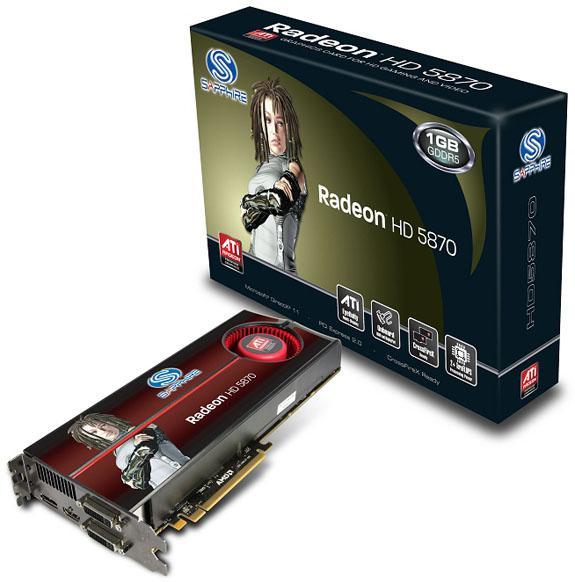Sapphire Radeon HD 5800 serisi yeni ekran kartlarını duyurdu