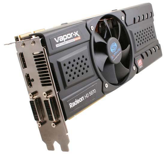 Sapphire'in özel tasarımlı Radeon HD 5870 Vapor-X modeli göründü