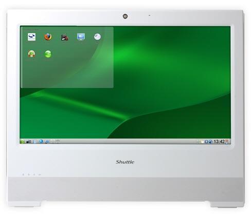 Shuttle dokunmatik ekranlı yeni panel bilgisayarında openSUSE kullanıyor