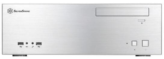 SilverStone'dan medya bilgisayarları için yeni kasa; Grandia GD04