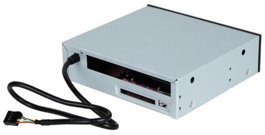 SilverStone Treasure TS-03 ile 5.25-inç slotunda çift sürücü kullanılabiliyor