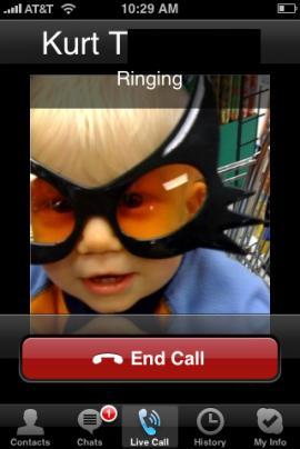 iPhone için çıkan Skype operatörleri telaşa düşürdü