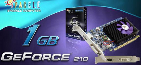 Sparkle 128-bit destekli GeForce 210 modelini duyurdu