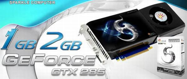 Sparkle'dan 2GB GDDR3 bellekli GeForce GTX 285 geliyor