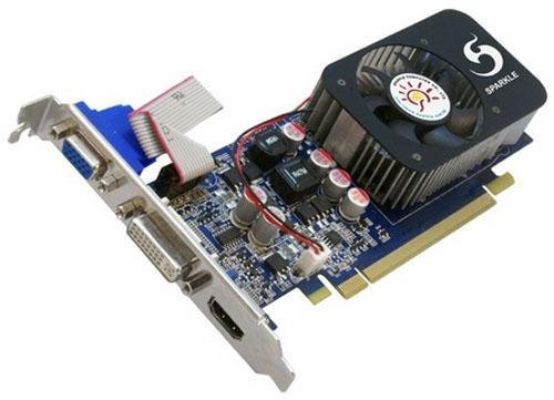 Sparkle düşük profilli GeForce GT220 ve GT240 modellerini duyurdu