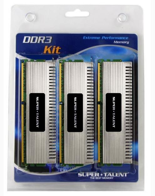 Super Talent, Chrome serisi 8GB ve 12GB kapasiteli DDR3 bellek kitlerini duyurdu
