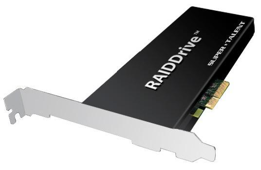 SuperTalent'dan RAIDDrive serisi 2TB kapasiteli PCIe SSD