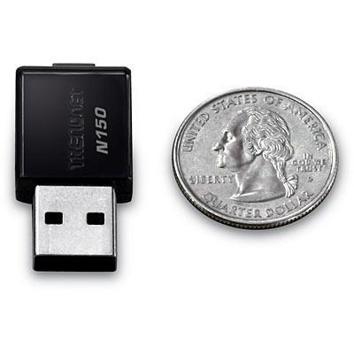 TRENDnet dünyanın en küçük Wireless N adaptörünü tanıttı