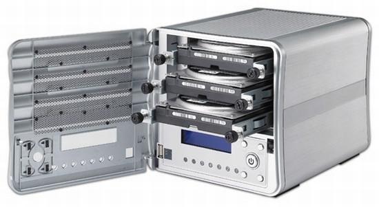 Thecus'dan yeni ağ depolama sistemi; N0503 ComboNAS