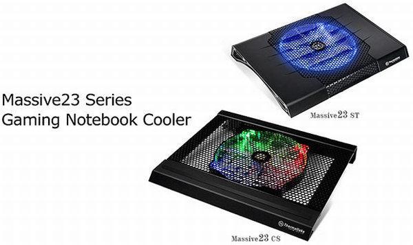 Thermaltake'den dizüstü bilgisayarlar için Massive23 serisi yeni soğutucular