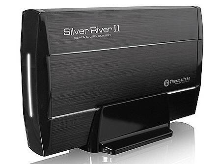 Thermaltake'den sabit diskler ve SSD sürücüler için SilverRiver serisi harici disk kutuları