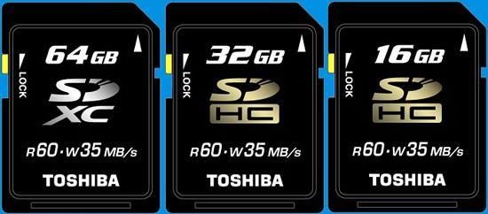 SDXC bellek standardı Arrandale tabanlı dizüstü bilgisayarlarda kullanılabilir