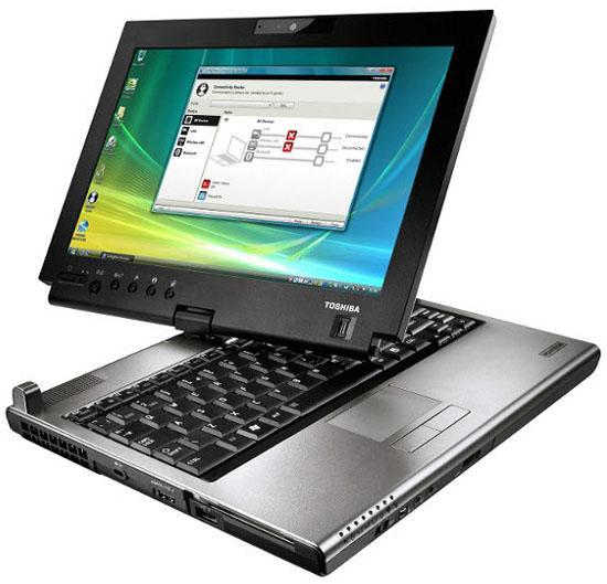 Toshiba'dan döndürülebilir ekranlı yeni dizüstü bilgisayar: Portégé M780