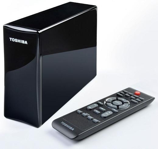 Toshiba'dan çoklu ortam odaklı harici sürücü ailesi; StorE TV