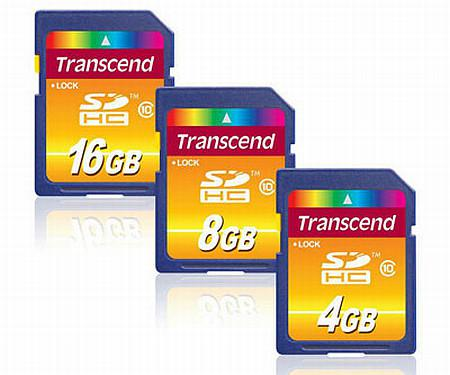 Transcend Ultimate serisi SDHC bellek kartlarını duyurdu
