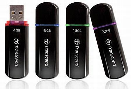 Transcend JetFlash 600 serisi yeni USB belleklerini duyurdu