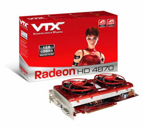 VXT3D özel tasarımlı Radeon HD 4870 modelini gösterdi