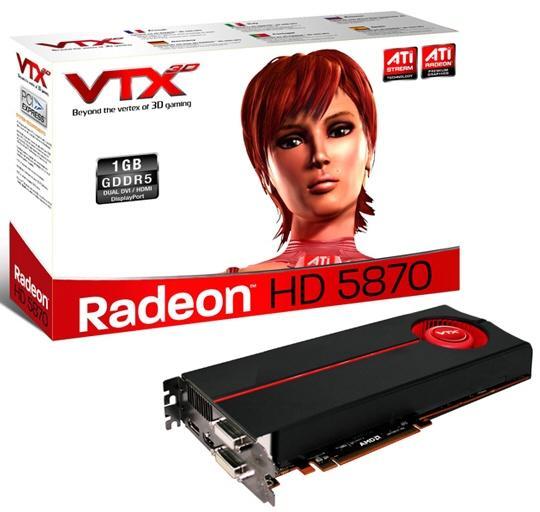 Vertex3D Radeon HD 5850 ve HD 5870 modellerini tanıttı