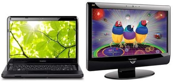 ViewSonic'den iki yeni notebook ve bir yeni panel bilgisayar
