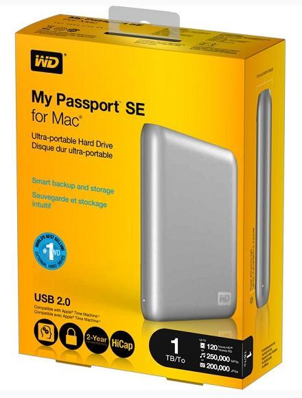 Western Digital'den Mac kullanıcıları için My Passport SE serisi harici sürücüler