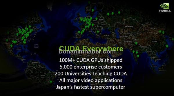 Nvidia: CUDA mimarisi kısa sürede önemli yol katetti