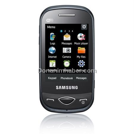 Samsung B3410W; Dokunmatik ekran - QWERTY klavye - WI-FI