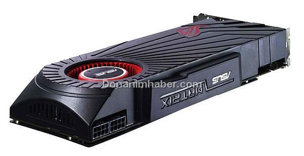 Asus 2GB GDDR5 bellekli Radeon HD 5870 Matrix modelini detaylandırdı