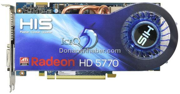 HIS, ICEQ5 serisi Radeon HD 5770 modellerini duyurdu
