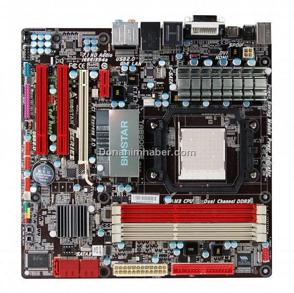 Biostar 890GX çipsetli yeni nesil AMD anakartını gösterdi