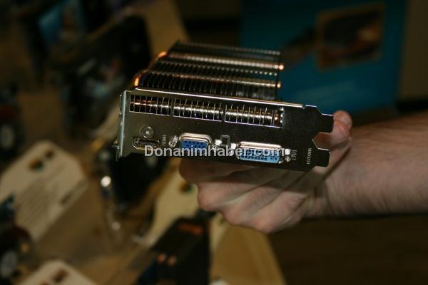 Computex 2009: Gigabyte pasif soğutmalı HD 4770 modelini gösteriyor