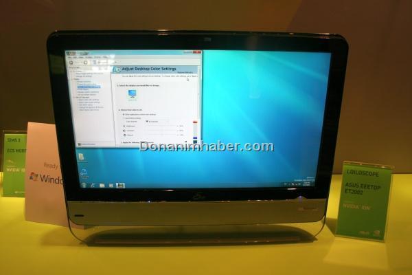 Computex 2009: Asus, Nvidia ION tabanlı Eee TOP bilgisayarını gösterdi