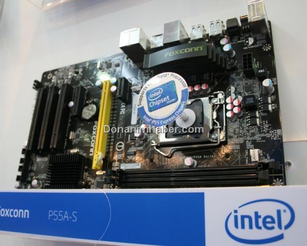 Computex 2009: Foxconn'un P55 yonga setli anakartı göründü