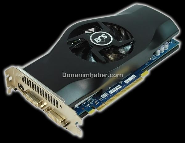 ECS'nin Black serisi GeForce GTS 250 modelleri 815MHz'de çalışıyor