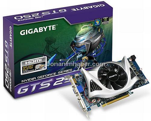 Gigabyte özel tasarımlı yeni bir GeForce GTS 250 hazırladı