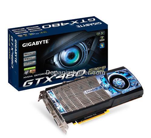 Gigabyte GeForce GTX 470 ve GeForce GTX 480 modellerini duyurdu