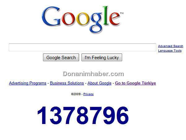 Google'ın gizemli sayacı geri sayıma devam ediyor