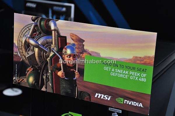 CeBIT 2010: Nvidia GeForce GTX 480'in ısıl güç tasarımı 295 Watt olabilir