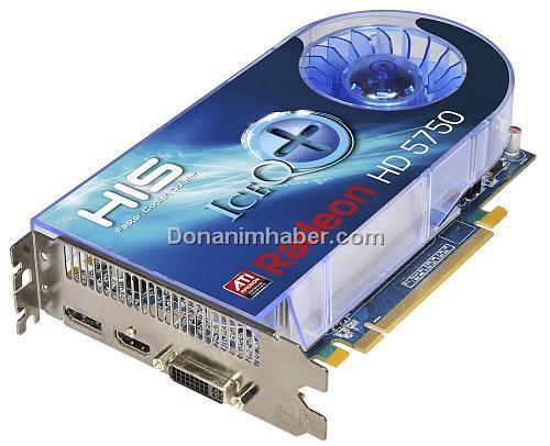 ATi Radeon HD 5700 serisi için özel tasarımlı modeller yolda