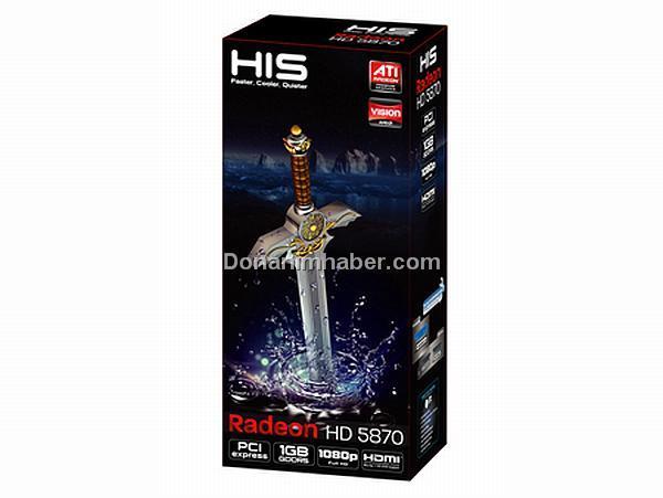 HIS Radeon HD 5870 gün ışığına çıktı