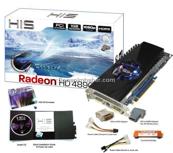 HIS özel tasarım Radeon HD 4890 iCooler X4 modelini hazırladı