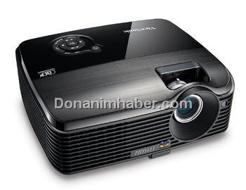 ViewSonic Uygun Fiyatlı Yeni DLP Projektörünün Örtüsünü Açtı