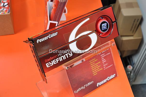 CeBIT 2010: PowerColor'dan Radeon HD 5870 ve 5770 Eyefinity Edition modelleri ve daha fazlası