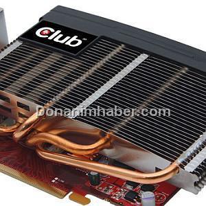 Club3D pasif soğutmalı Radeon HD 5750 modelini pazara sunuyor