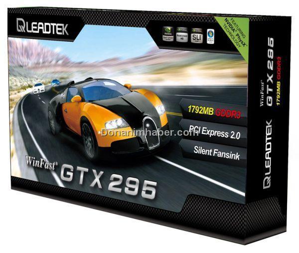 Leadtek tek PCB'li GeForce GTX 295 modelini tanıttı